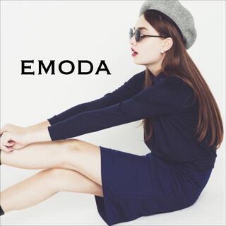 EMODA - EMODA バイカラーレイヤー ワンピース♡マウジー ムルーア ENVYM