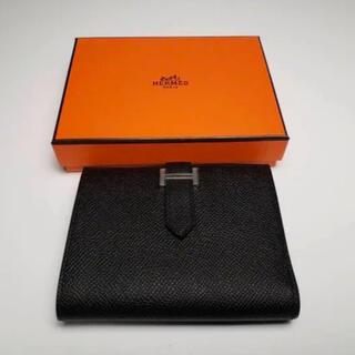 エルメス(Hermes)のHERMES ベアンコンパクト 美品 Bearn ベアン エルメス(折り財布)