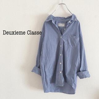 DEUXIEME CLASSE - Deuxieme Classe チェックコットンシャツ