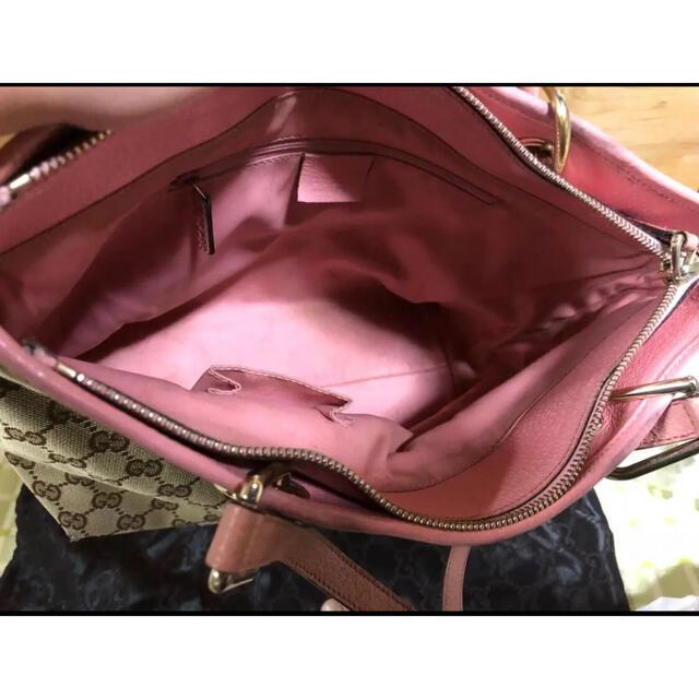 Gucci(グッチ)のGUCCI グッチ  GGキャンバス トートバッグ レディースのバッグ(トートバッグ)の商品写真