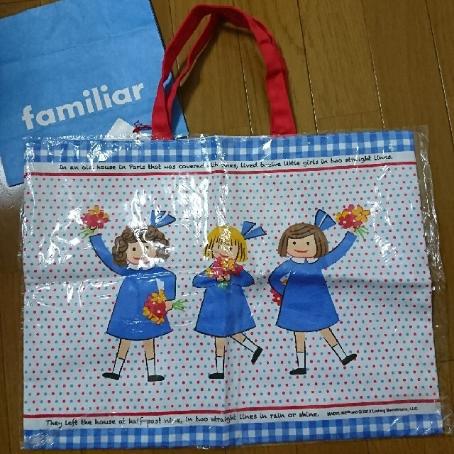 familiar(ファミリア)の新品未使用 familiar マドレーヌちゃん レッスンバッグ キッズ/ベビー/マタニティのこども用バッグ(レッスンバッグ)の商品写真