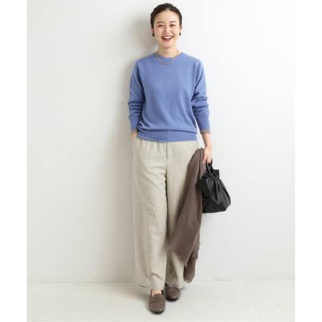 IENA(イエナ)のカシミヤ クルーネックプルオーバー レディースのトップス(ニット/セーター)の商品写真
