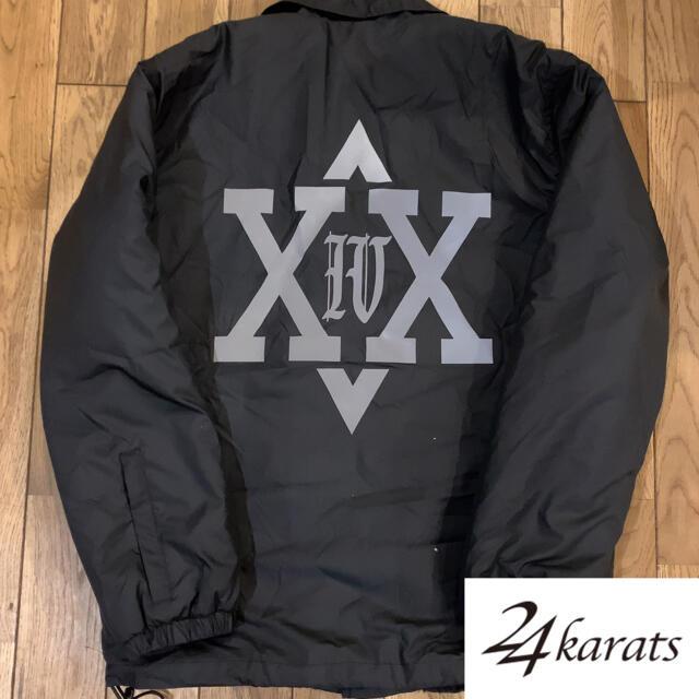 24karats(トゥエンティーフォーカラッツ)の24karats    ヘキサグラム ボア コーチジャケット  サイズS メンズのジャケット/アウター(ナイロンジャケット)の商品写真