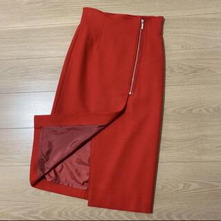 Noble - NOBLE  PE/RY/W ジップタイトスカート