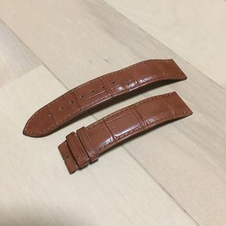 カルティエ(Cartier)の純正 Cartier / カルティエ 時計ストラップ 茶色 ブラウン(レザーベルト)