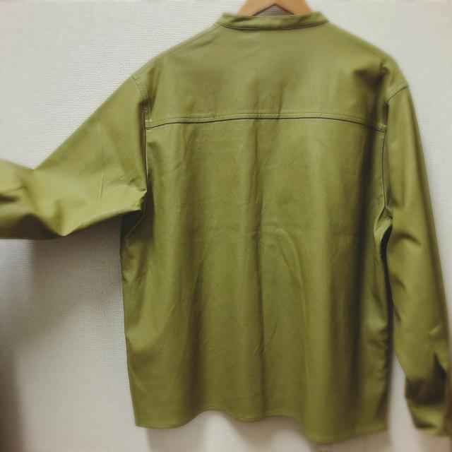Kastane(カスタネ)のカスタネレザーシャツ レディースのトップス(シャツ/ブラウス(長袖/七分))の商品写真