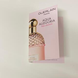 ゲラン(GUERLAIN)のゲラン アクアアレゴリア ペラグラニータ サンプル 1ml(香水(女性用))
