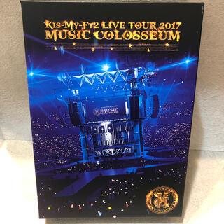 キスマイフットツー(Kis-My-Ft2)のMUSIC COLOSSEUM(初回盤) DVD(アイドルグッズ)