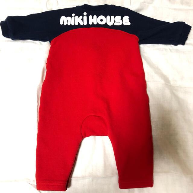 mikihouse(ミキハウス)のミキハウス ロンパース カバーオール  キッズ/ベビー/マタニティのベビー服(~85cm)(ロンパース)の商品写真