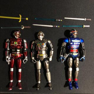 BANDAI - 装着変身シリーズ超合金 宇宙刑事ギャバン、シャイダー、シャリバン3点セット