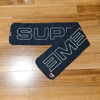 シュプリーム(Supreme)の未使用 supreme マフラー ネイビー ストール(マフラー/ショール)