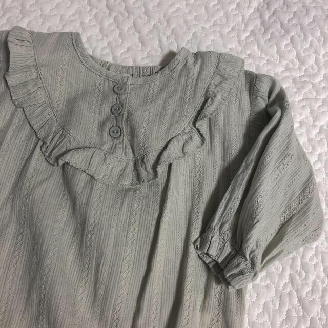 テータテート バースデイ ロンパース 80 キッズ/ベビー/マタニティのベビー服(~85cm)(ロンパース)の商品写真