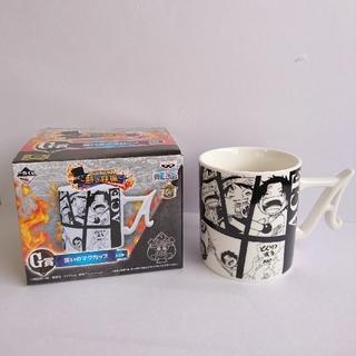 バンプレスト(BANPRESTO)の5個セット👑ONE PIECE エースマグカップ&グラス+湯呑み4個 🍷◆(その他)
