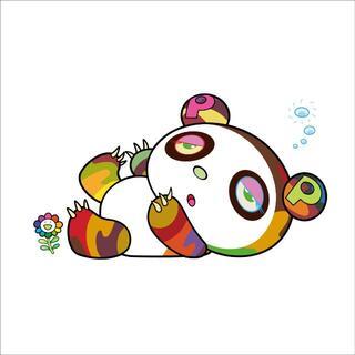 村上隆 パンダちゃん、眠い眠い。(版画)