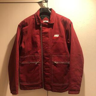 シュプリーム(Supreme)のsupreme nike work jacket シュプリーム ナイキ (カバーオール)