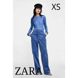 ZARA - 新品未使用【ZARA】コーデュロイパンツ XSサイズ