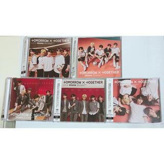 ボウダンショウネンダン(防弾少年団(BTS))のtxt drama CD ユニバ5形態セット(K-POP/アジア)