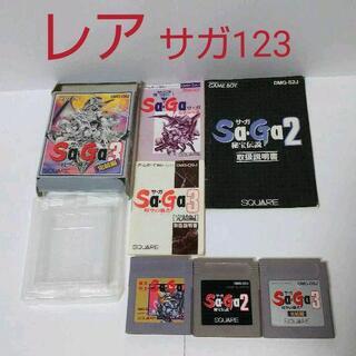 ゲームボーイ - ≪箱説付・レアGB≫サガシリーズ123セット