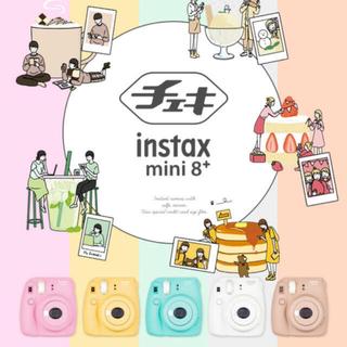 富士フイルム - チェキ instax mini8+ ココア