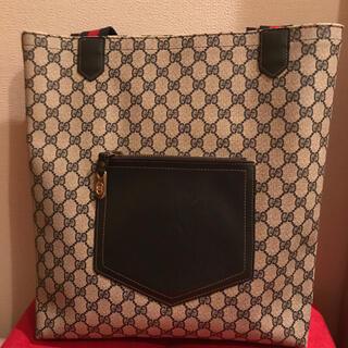 Gucci - 【美品】オールドグッチ トートバッグ シェリーライン PVC