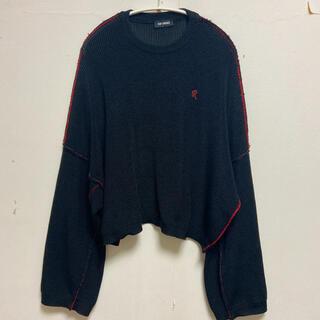 RAF SIMONS - 訳あり raf simons 19ss cropped knit