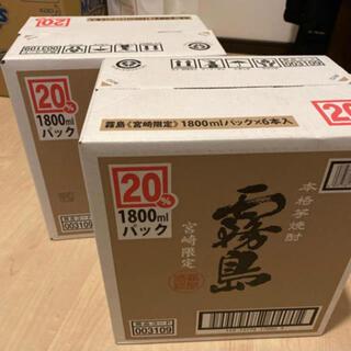 霧島酒造 宮崎限定 霧島 1800mlパック 12本セット 2ケース(焼酎)