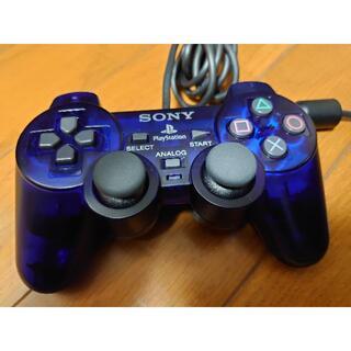 PlayStation2 - PS2 純正コントローラー デュアルショック2 ミッドナイトブルー