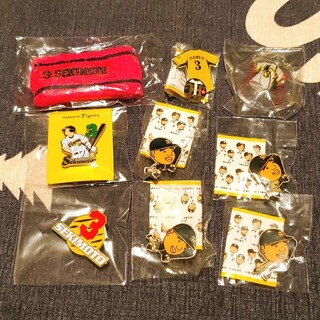 ハンシンタイガース(阪神タイガース)の阪神タイガース 関本 セット(応援グッズ)