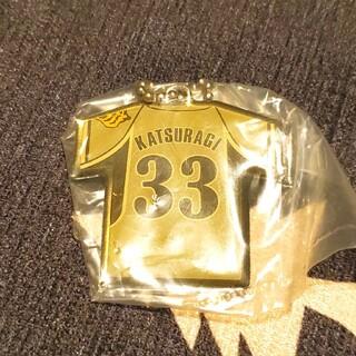 ハンシンタイガース(阪神タイガース)の阪神タイガース 葛城 キーホルダー(スポーツ選手)