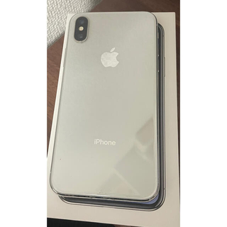iPhone - iPhone X 64GB シルバー 本体