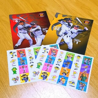 ハンシンタイガース(阪神タイガース)の阪神タイガース ノート シールセット 非売品(応援グッズ)