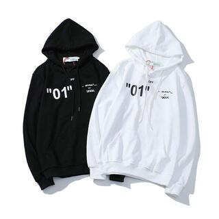 OFF-WHITE - 2枚11000円OFF-WHITE パーカー 5男女兼用 ZOF130
