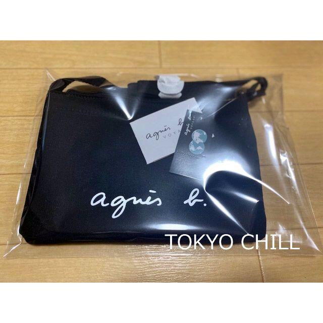 agnes b.(アニエスベー)のアニエスベー サコッシュ ショルダーバッグ ブラック 新品タグ付き 値引き品 レディースのバッグ(ショルダーバッグ)の商品写真