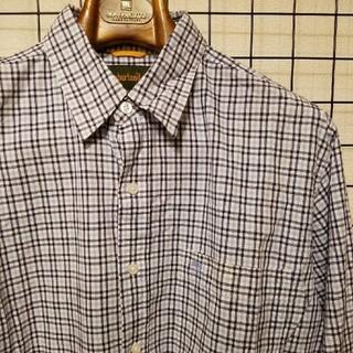 ティンバーランド(Timberland)のTimberland ワンポイント刺繍入り チェック柄 長袖ボタンシャツ L/S(シャツ)
