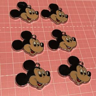 Disney - ミッキーマウス ディズニー パーツ チャーム  ハンドメイド