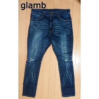 glamb - glamb グラム ダメージデニムパンツ L