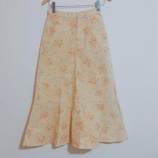 ピンクハウス(PINK HOUSE)のピンクハウス フラワープリント マキシ丈スカート(ロングスカート)