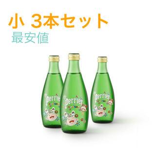ネスレ(Nestle)の3本セット 【限定】村上隆 Perrie デコペリエ 330ml 新品未使用(ミネラルウォーター)