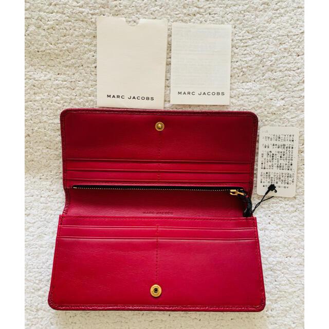 MARC JACOBS(マークジェイコブス)のマークジェイコブス♡未使用タグ付き 長財布美品 レディースのファッション小物(財布)の商品写真