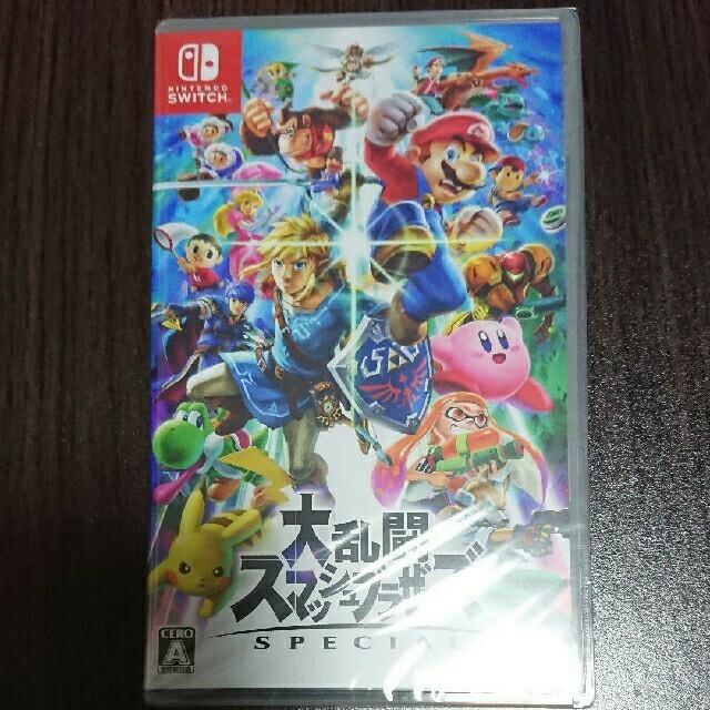 Nintendo Switch(ニンテンドースイッチ)の大乱闘スマッシュブラザーズ SPECIAL エンタメ/ホビーのゲームソフト/ゲーム機本体(家庭用ゲームソフト)の商品写真