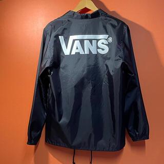 ヴァンズ(VANS)の美品 バンズ VANS コーチジャケット サイズM(ナイロンジャケット)