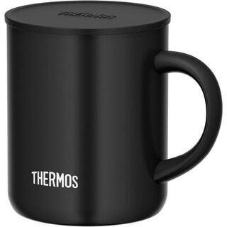 サーモス(THERMOS)のサーモス 真空断熱マグカップ ブラック 350ml JDG-350C BK (食器)