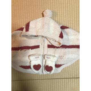 ジェラートピケ(gelato pique)のジェラートピケ ポンチョと靴下セット(カーディガン/ボレロ)