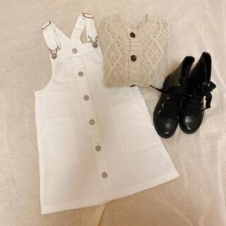 H&M - H&M ジャンパースカート