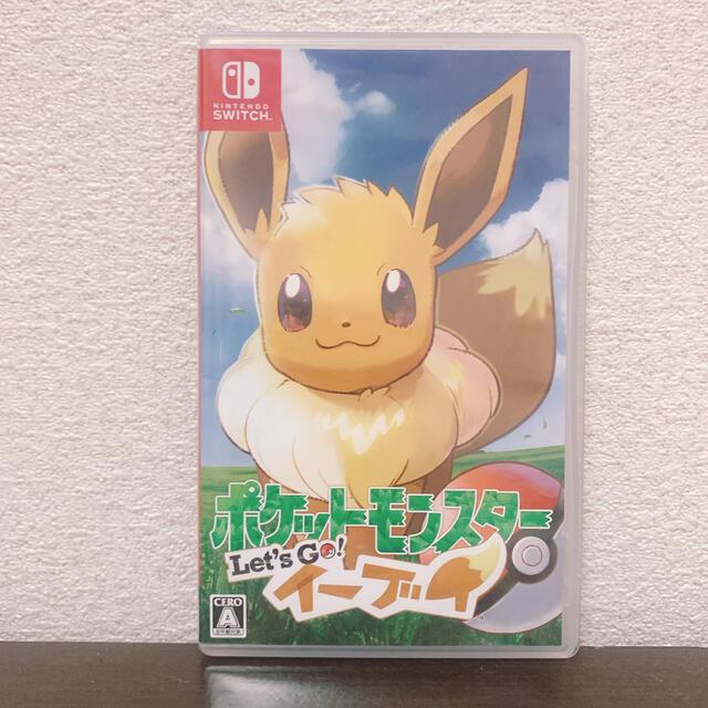 ポケットモンスター Let's Go! イーブイ Switch エンタメ/ホビーのゲームソフト/ゲーム機本体(家庭用ゲームソフト)の商品写真
