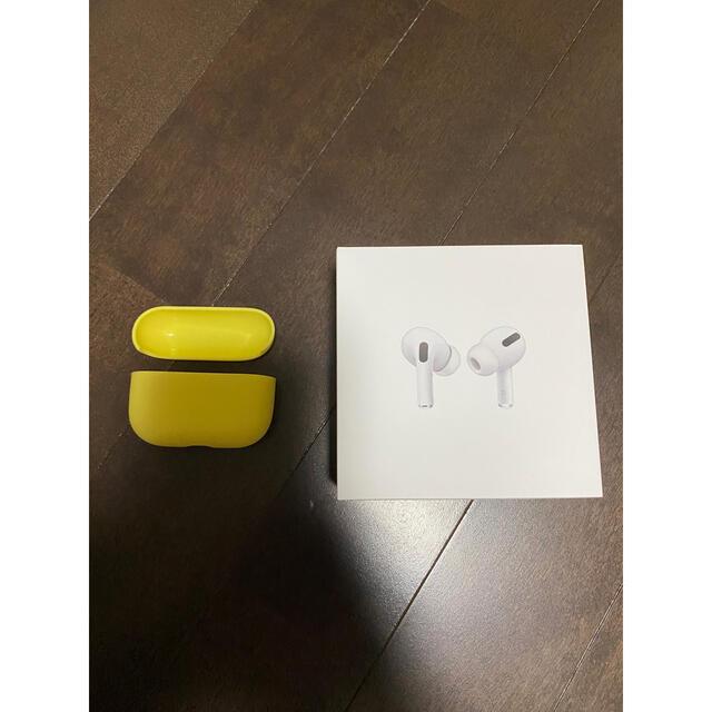 Apple(アップル)の【最終値下げ】Apple Airpods Pro 国外モデル ラバーケース付き スマホ/家電/カメラのオーディオ機器(ヘッドフォン/イヤフォン)の商品写真