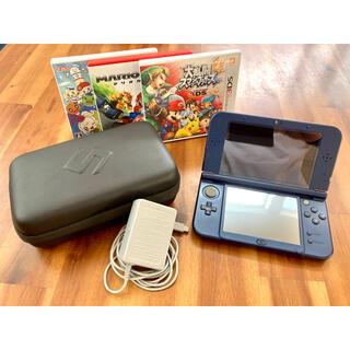 ニンテンドー3DS - NEW Nintendo 3DS 本体 LL メタリックブルー【中古美品】