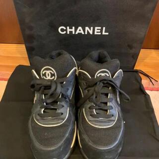 CHANEL - CHANEL スニーカー 37 美品