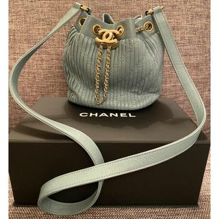 CHANEL - 正規品 CHANEL 巾着 ショルダーバッグ      斜めがけ