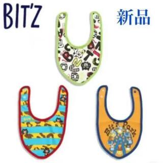 Bit'z - 【新品】Bit'z  ビッツ 3Pちびスタイ よだれかけ